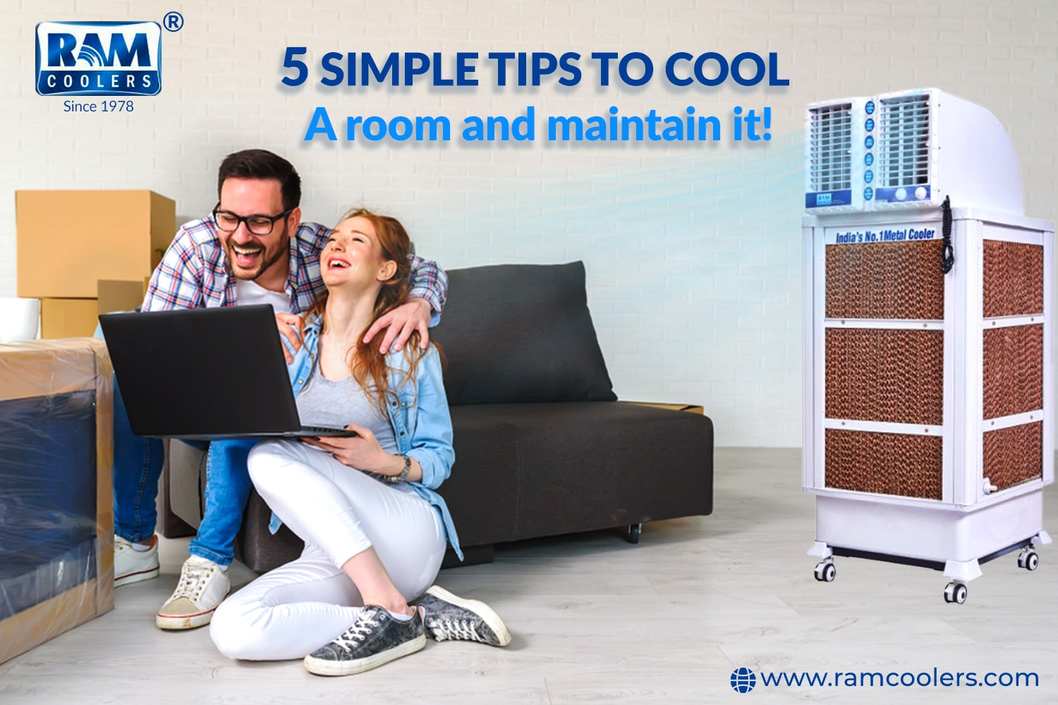 Simple tips to cool a room