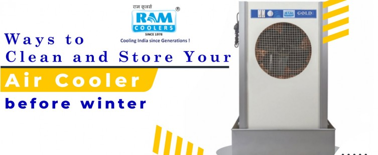 Cleaning Storing Air Cooler